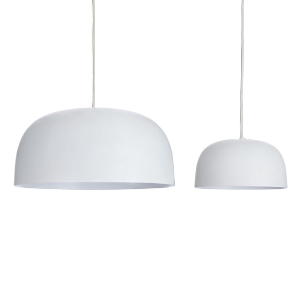 Murguma pendant lamp in white, 100% metal |Find the perfect pendant lamps