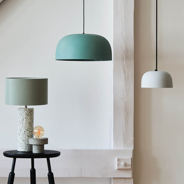 Light grey green Sadum Hängelampe | Home & Living inspiration | URBANARA