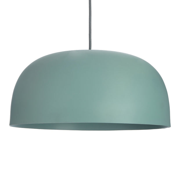 Sadum pendant lamp, light grey green, 100% metal