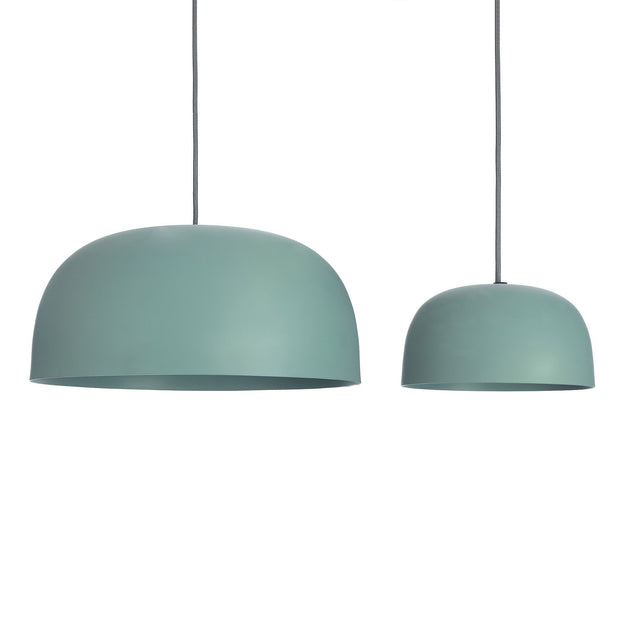 Sadum pendant lamp, light grey green, 100% metal |High quality homewares