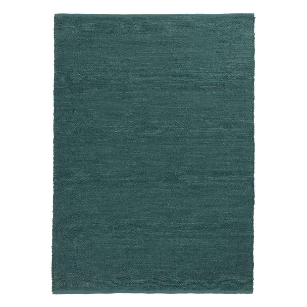 Gorbio rug, grey green, 90% jute & 10% cotton | URBANARA jute rugs