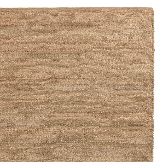 Gorbio runner, natural, 90% jute & 10% cotton