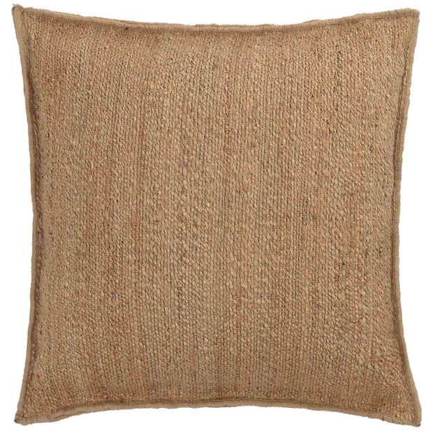 Silani cushion, natural, 90% jute & 10% cotton
