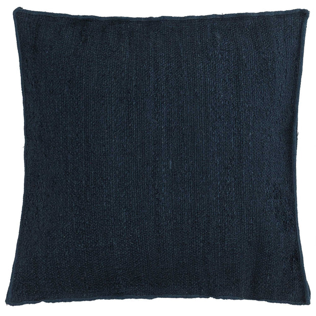 Silani cushion, blue, 90% jute & 10% cotton