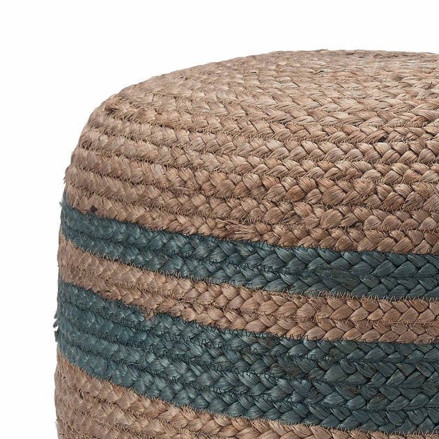 Natural & Grey green Silani Pouf | Home & Living inspiration | URBANARA