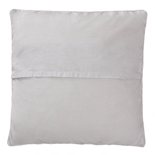Karlay cushion cover, light grey, 100% linen & 100% cotton | URBANARA cushion covers