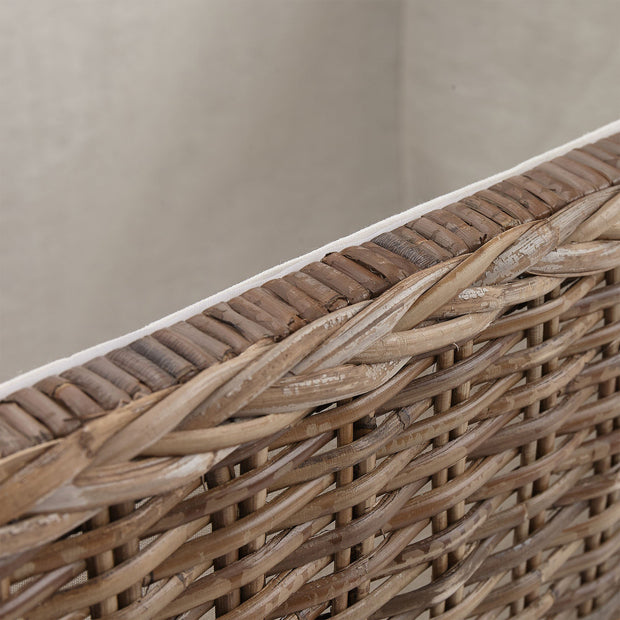 Java trunk, grey brown, 100% rattan |High quality homewares
