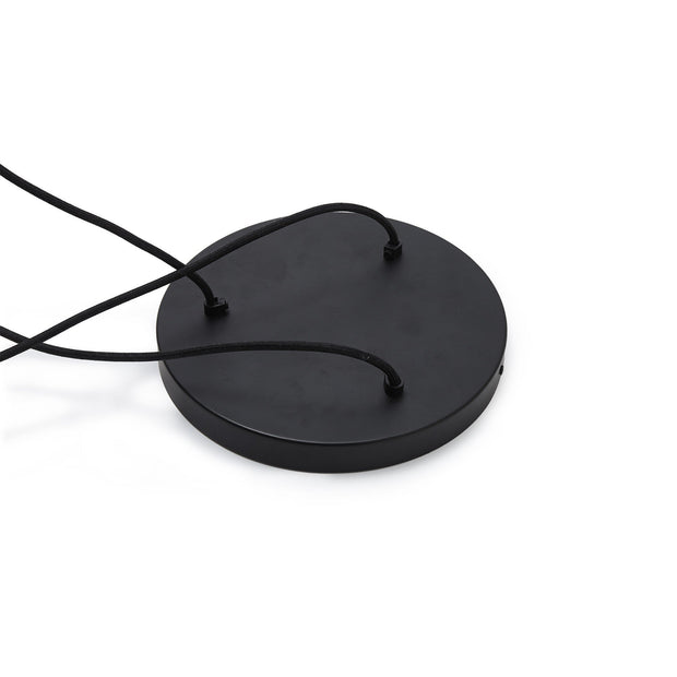 Kurchi pendant lamp, black & brass, 100% iron & 100% stainless steel |High quality homewares
