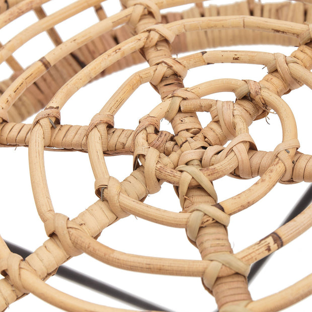 Palu stool, natural, 100% rattan |High quality homewares