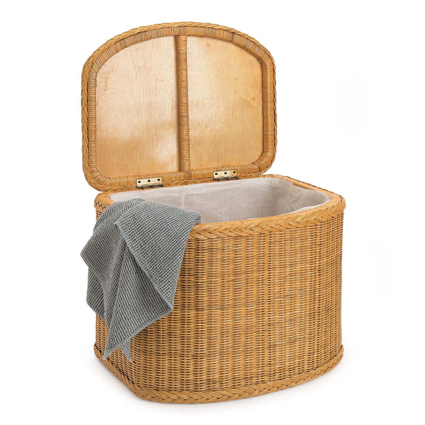 Java laundry basket, honey, 100% rattan |High quality homewares
