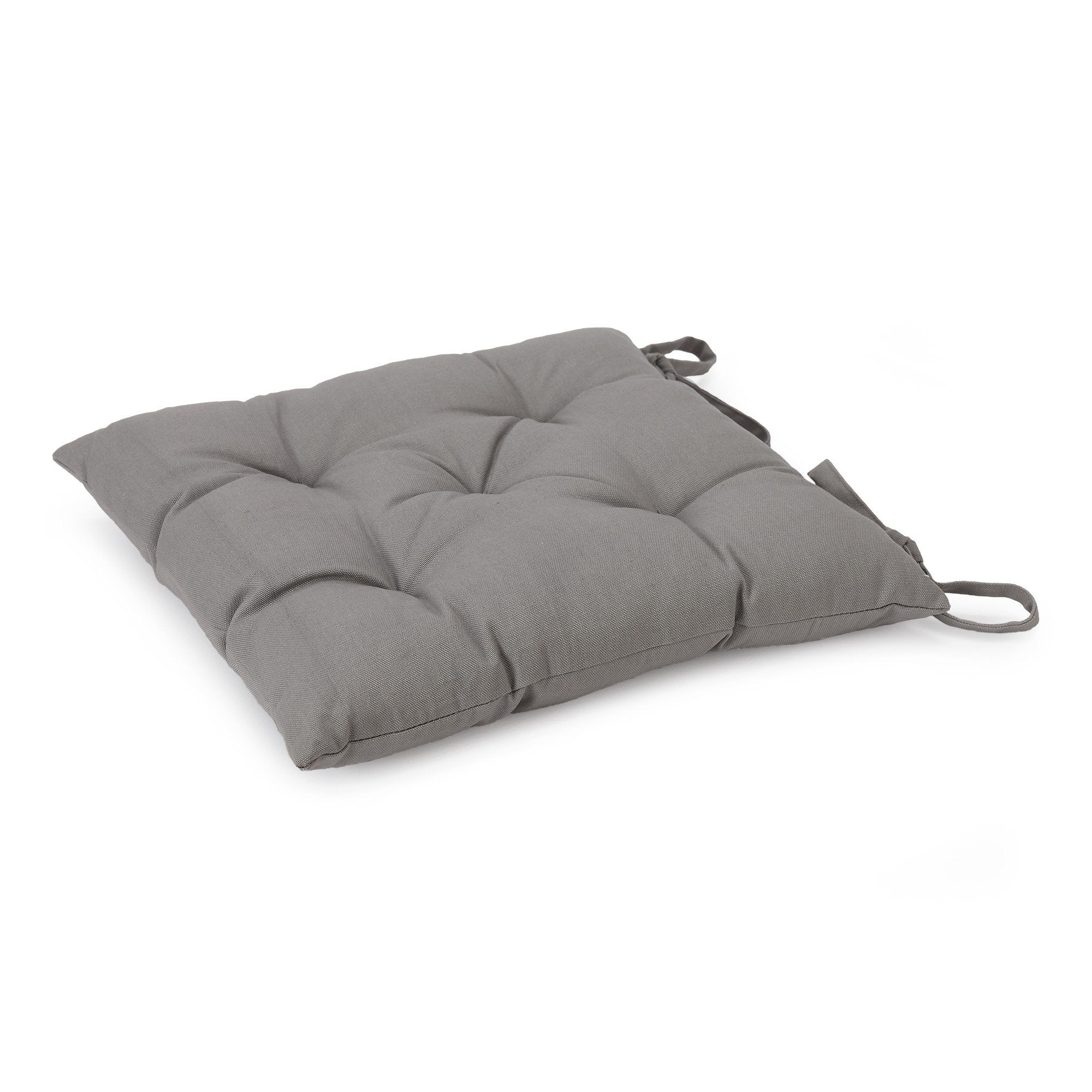 Isaka cushion, light grey, 100% cotton & 100% polyester