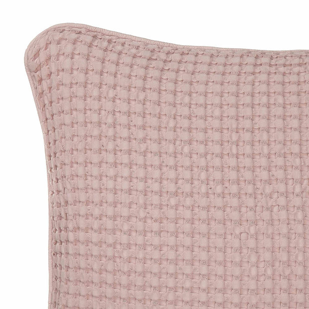 Veiros cushion cover, powder pink, 100% cotton | URBANARA cushion covers