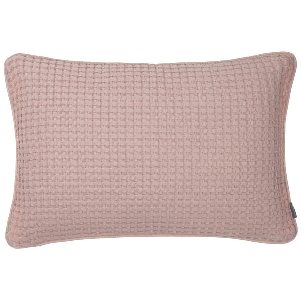 Veiros cushion cover, powder pink, 100% cotton