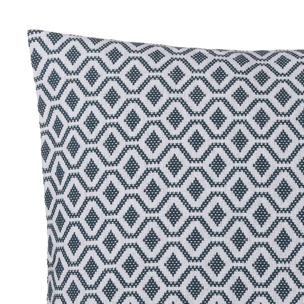 Viana Cushion [Teal/White]