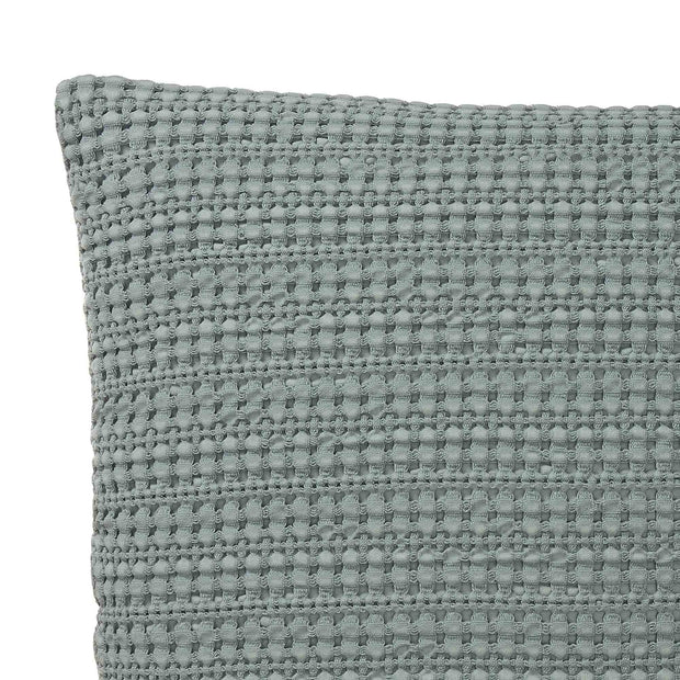Anadia cushion cover, mist green, 100% cotton | URBANARA cushion covers