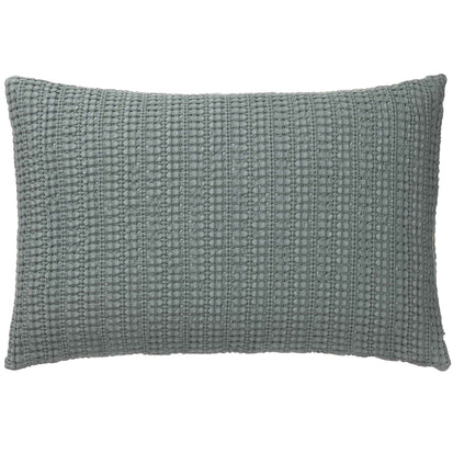 Anadia cushion cover, mist green, 100% cotton