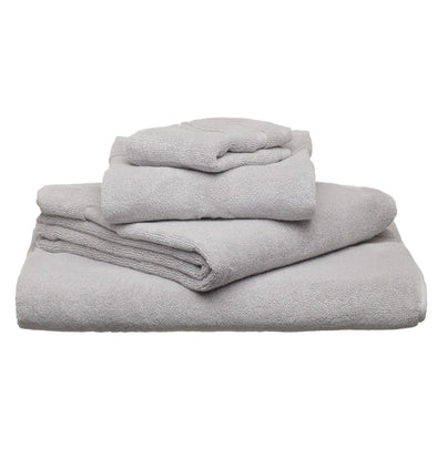 Salema hand towel, light grey, 100% supima cotton