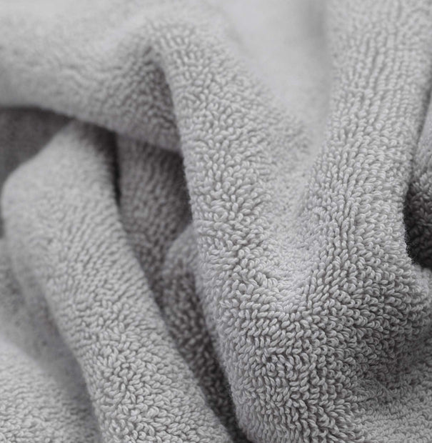 Salema hand towel in light grey, 100% supima cotton |Find the perfect cotton towels
