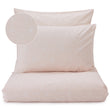 Renforce Bed Linen Set Albufeira powder pink & white, 100% cotton
