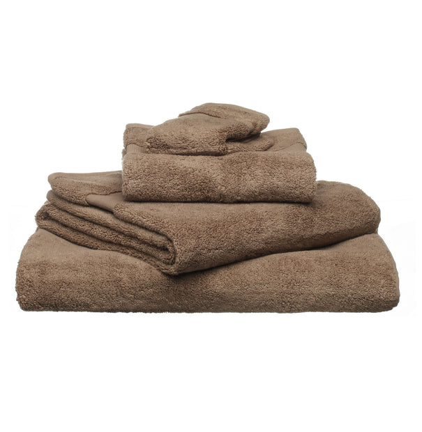 Alvito Towel Collection light brown, 100% zero twist cotton