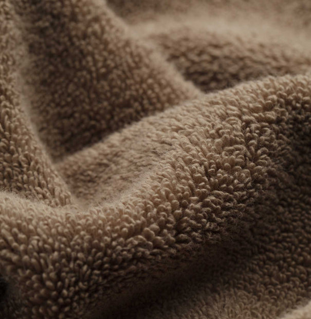 Alvito Towel Collection light brown, 100% zero twist cotton | High quality homewares