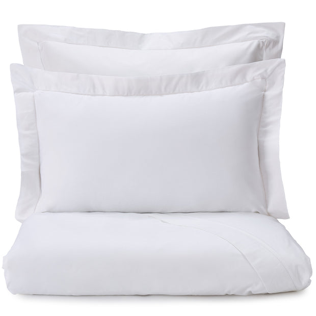Arles Duvet Cover white, 100% combed and mercerized cotton