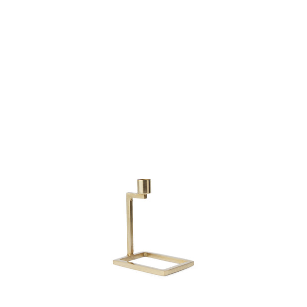 Betwa Candle Holder brass, 100% iron | URBANARA candles & scents
