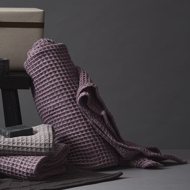 Mikawa Towel Collection in mauve | Home & Living inspiration | URBANARA