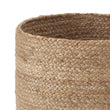 Chenab Storage Basket natural, 100% jute | URBANARA storage baskets