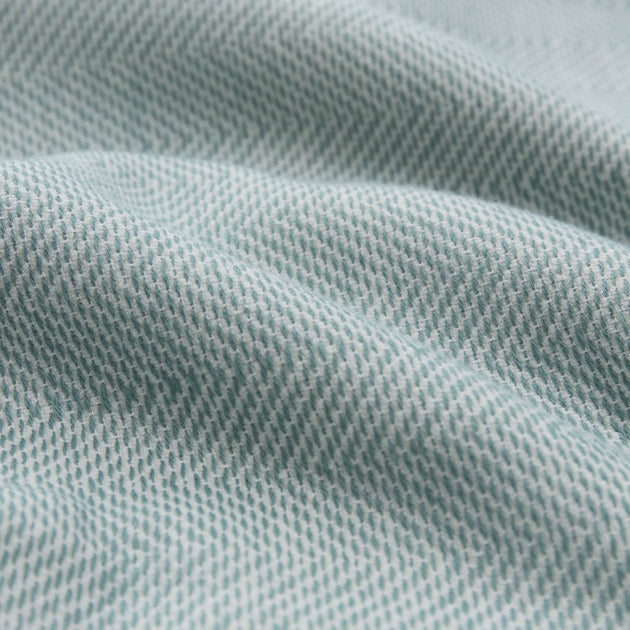 Ilhavo Towel in green grey & natural white | Home & Living inspiration | URBANARA