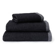 Louzela Bath Sheet black & white, 100% organic cotton