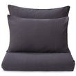 Mafalda Bed Linen dark grey, 100% linen