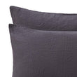 Mafalda Bed Linen in dark grey | Home & Living inspiration | URBANARA