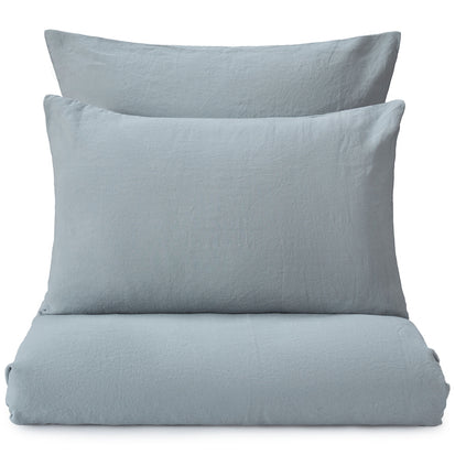 Mafalda Pillowcase light green grey, 100% linen