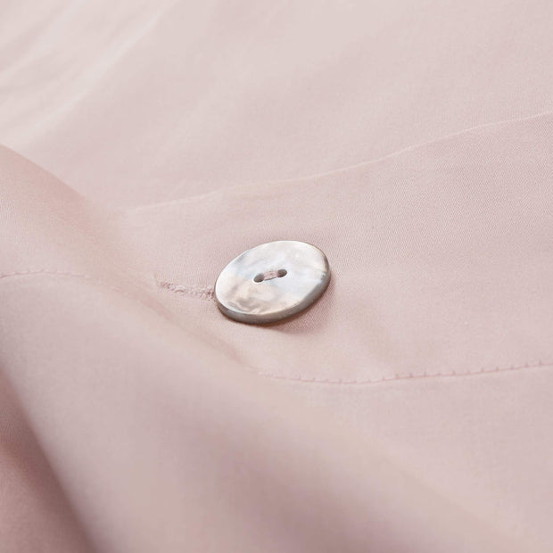 Millau Bed Linen powder pink, 100% cotton | URBANARA sateen bedding