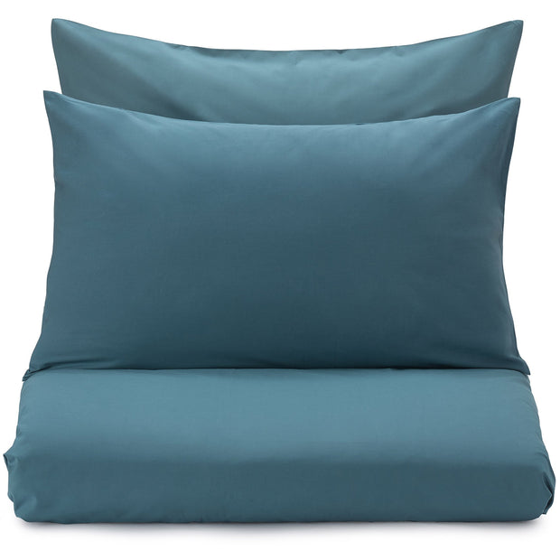 Perpignan Pillowcase teal, 100% combed cotton