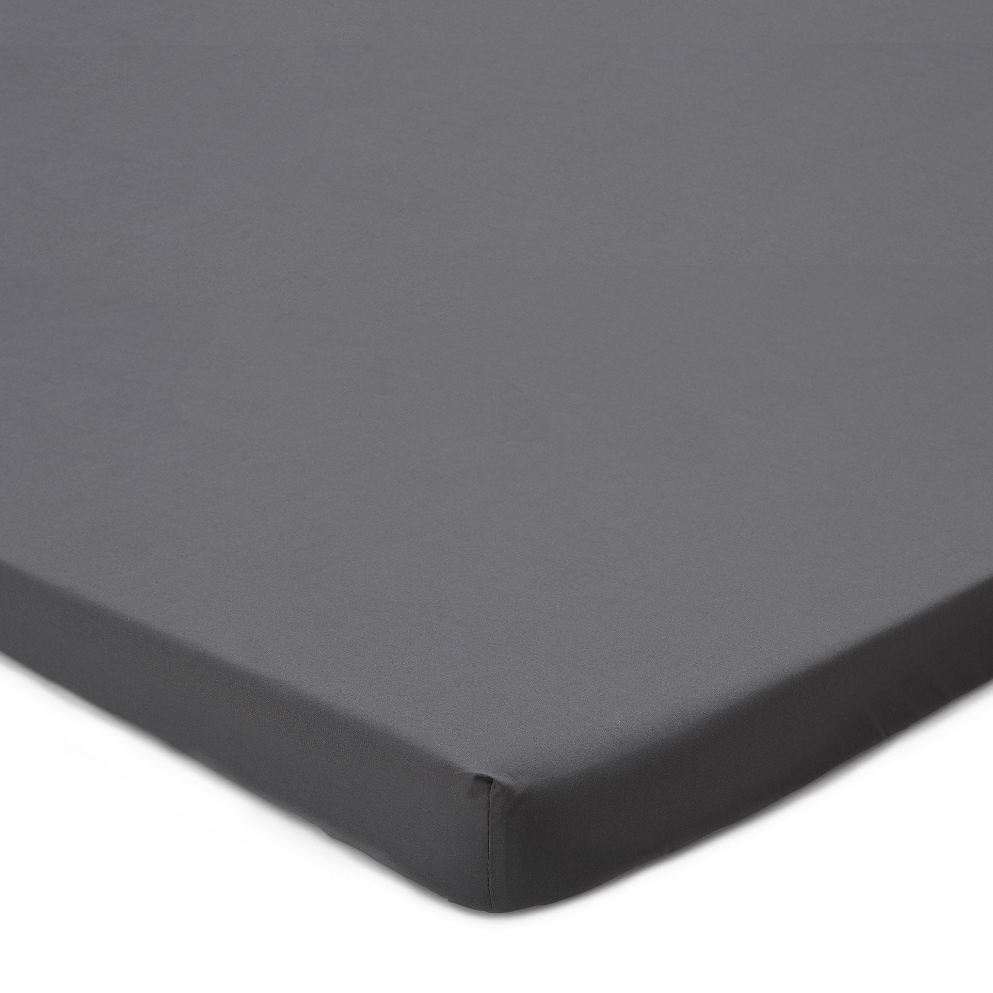 Perpignan Topper Fitted Sheet grey, 100% cotton