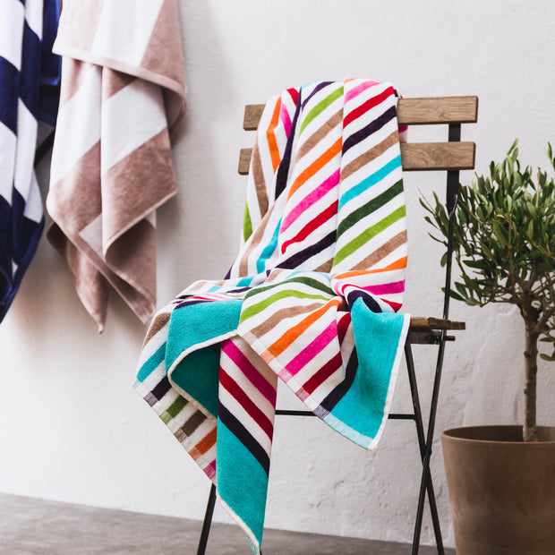 Tavira Beach Towel in multicolour | Home & Living inspiration | URBANARA