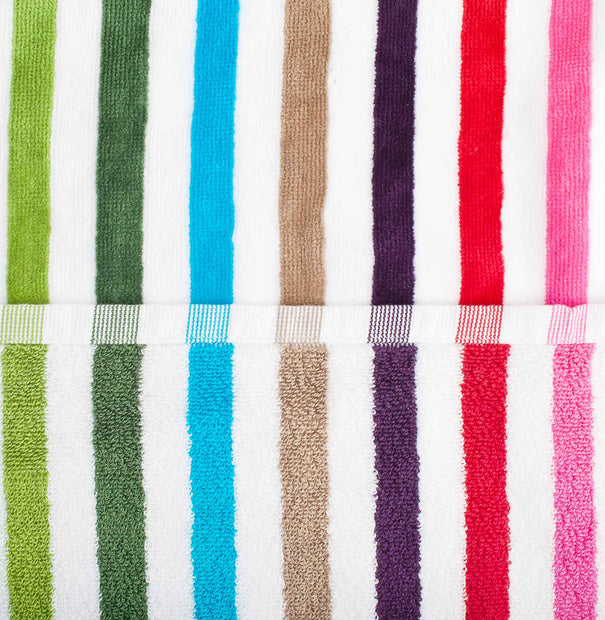 Tavira Beach Towel multicolour, 100% cotton | High quality homewares