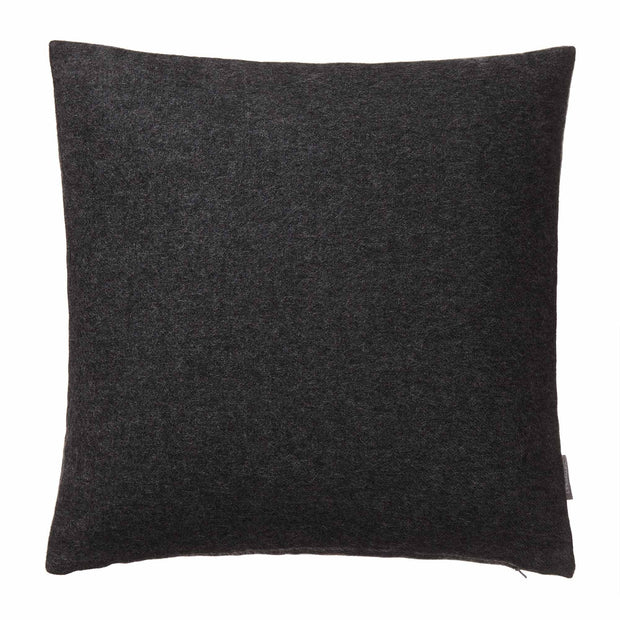 Arica cushion cover, charcoal melange, 100% baby alpaca wool