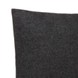Arica cushion cover, charcoal melange, 100% baby alpaca wool | URBANARA cushion covers