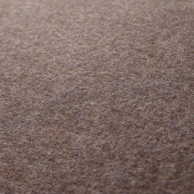 Arica cushion cover, brown melange, 100% baby alpaca wool |High quality homewares