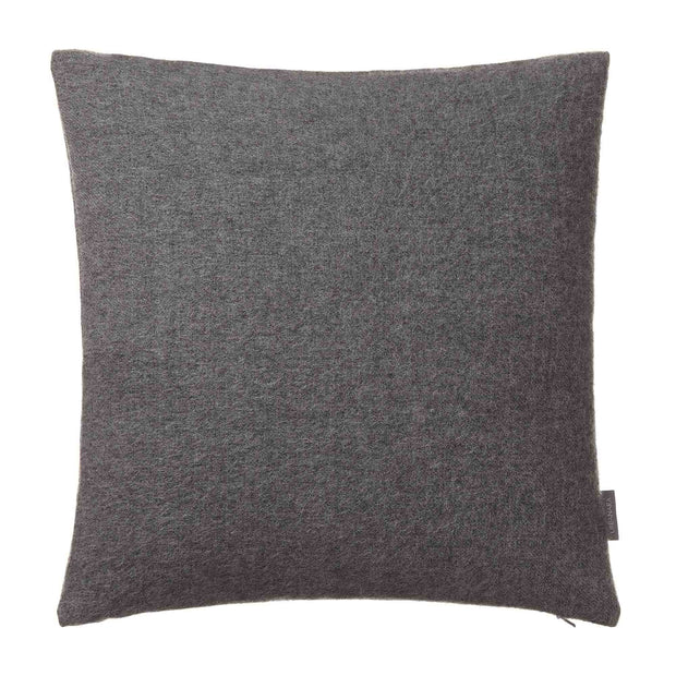 Arica cushion cover, grey melange, 100% baby alpaca wool