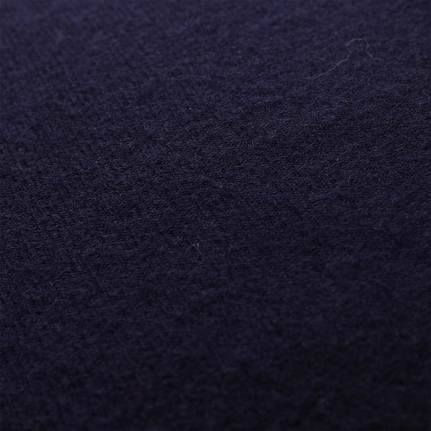 Arica cushion cover, midnight blue, 100% baby alpaca wool | URBANARA cushion covers