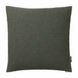 Arica cushion cover, moss green melange, 100% baby alpaca wool