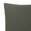 Arica cushion cover, moss green melange, 100% baby alpaca wool | URBANARA cushion covers