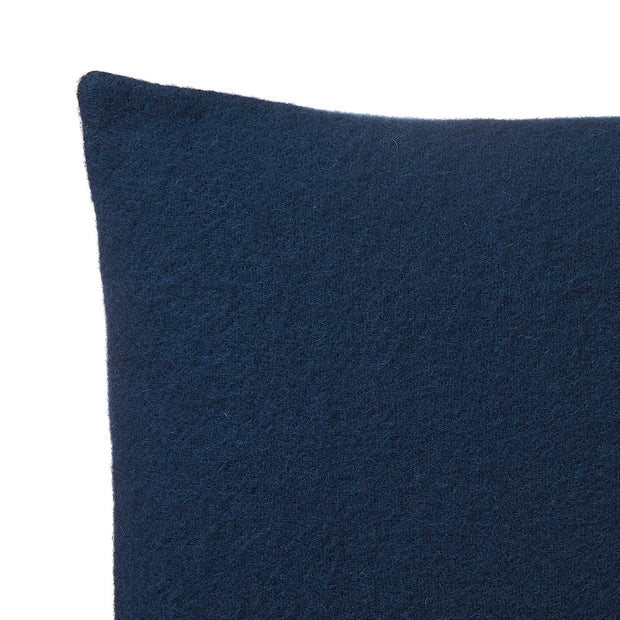 Miramar Cushion in dark blue | Home & Living inspiration | URBANARA