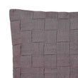 Akole Cushion dark grey, 100% linen | High quality homewares