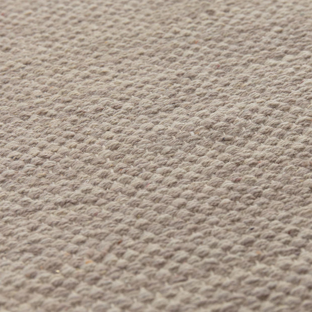 Akora runner, sandstone melange, 100% cotton |High quality homewares