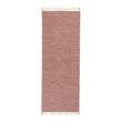 Akora runner, dusty pink melange, 100% cotton | URBANARA runners
